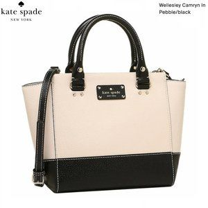 Kate Spade - Wellesley Camryn Large (PEBBLE/BLACK)